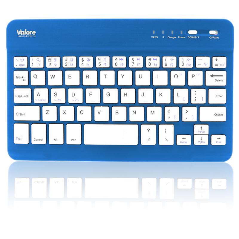 800x800 Valore Portable Bluetooth Keyboard BTK380_Blue