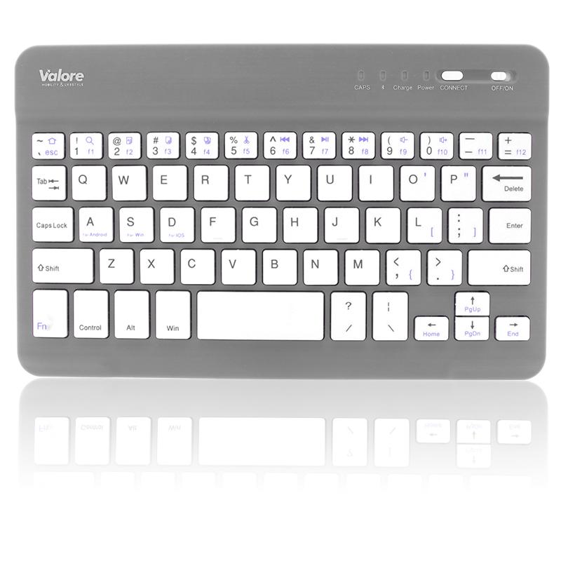 800x800 Valore Portable Bluetooth Keyboard BTK380_Grey