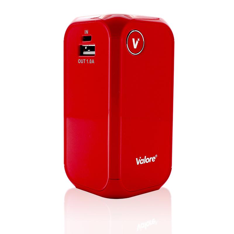 800x800 Valore vPower 12000mAh Power Bank_Red