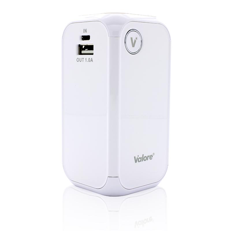 800x800 Valore vPower 12000mAh Power Bank_White