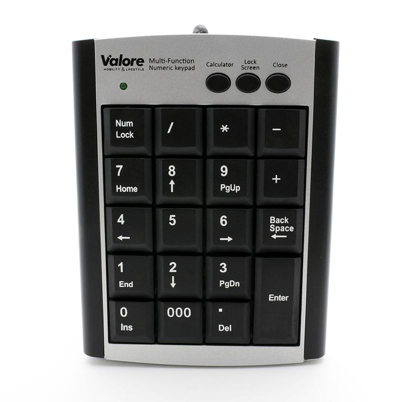 800x800 vConnect Valore Numeric keypad AC777_Front