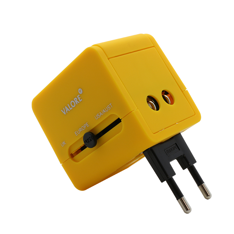 800x800 vConnect Valore Travel Adapter AC211_Europe