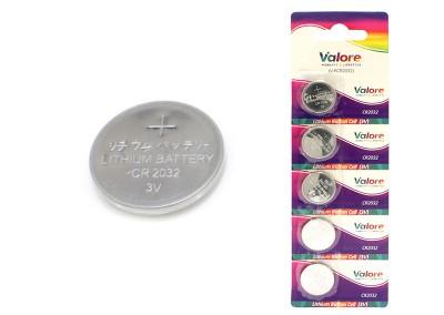 Valore CR2032 Lithium Button Cell (3V)