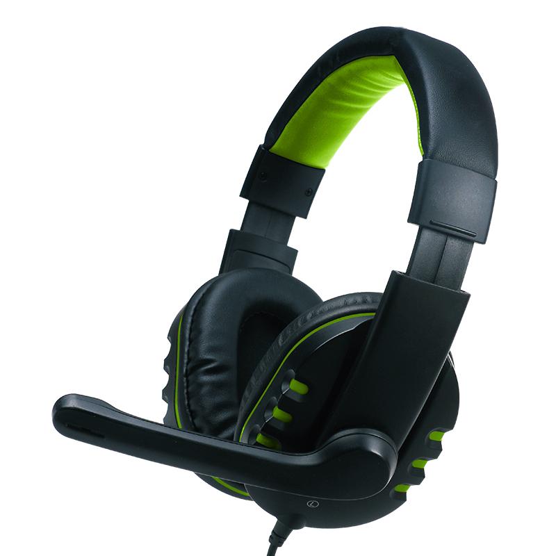 800x800_Valore Multimedia Headphone with Mic_Green