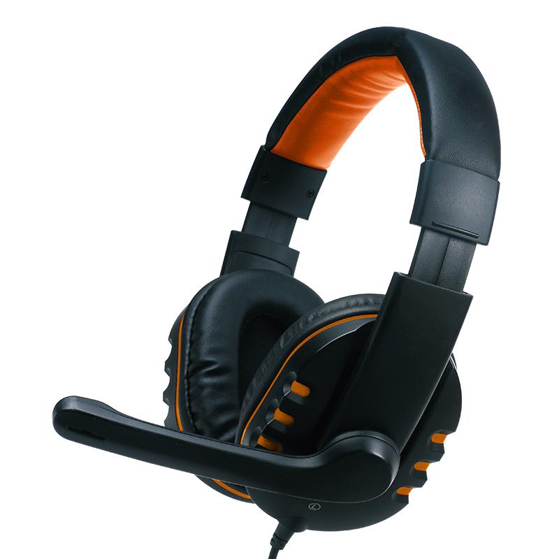 800x800_Valore Multimedia Headphone with Mic_Orange