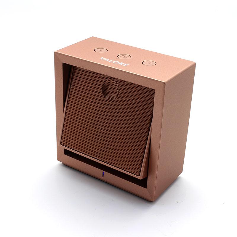 BTS-78N-Wireless-Speaker-Bronze-Switch-On-Front-View