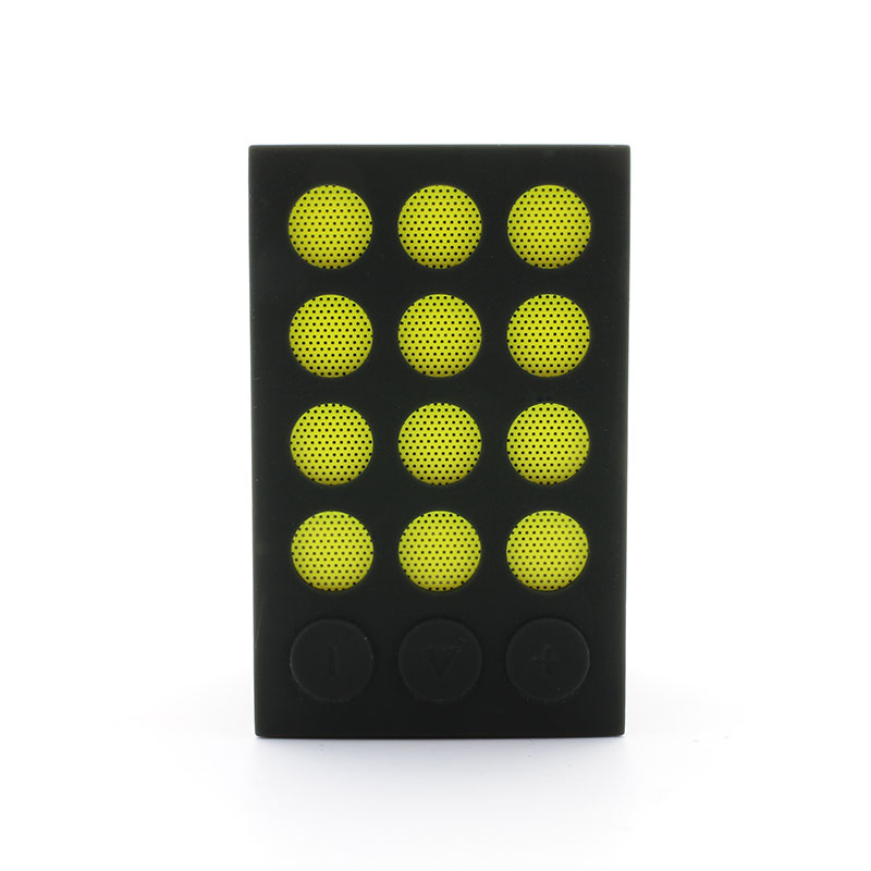 BTS07-Wireless-Speaker-with-Selfie-Shutter-Function-Yellow--Front