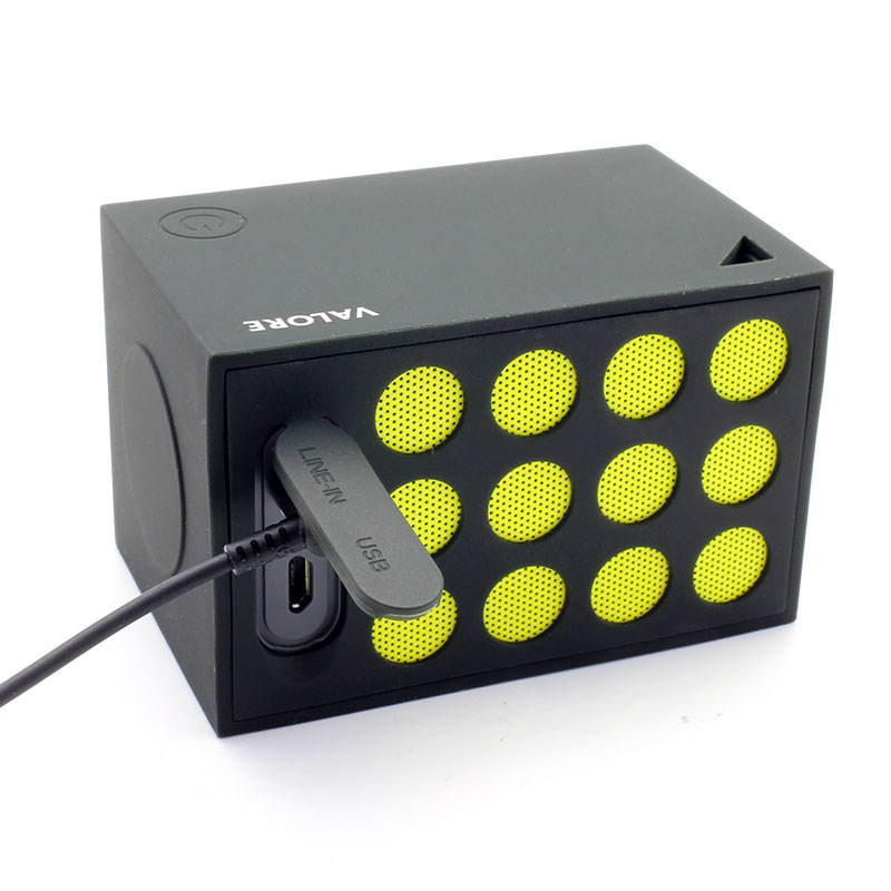 BTS07-Wireless-Speaker-with-Selfie-Shutter-Function-Yellow--Ports2