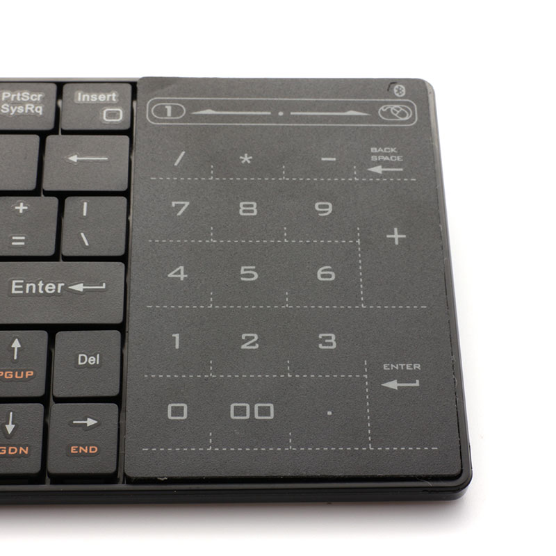 5f821848f4c Valore Bluetooth Keyboard with Numeric Touchpad (V-BTK360) | Valore