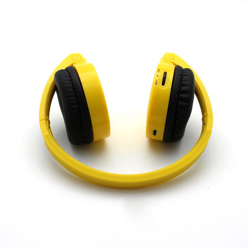 FB100-Wireless-Headset-Yellow-Fold