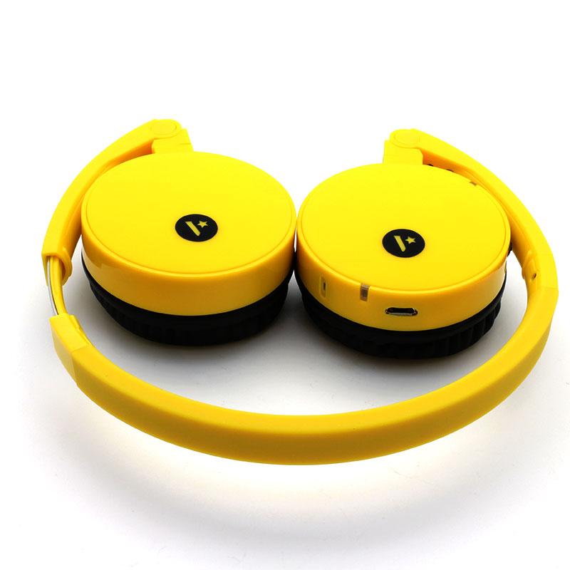 FB100-Wireless-Headset-Yellow-Top