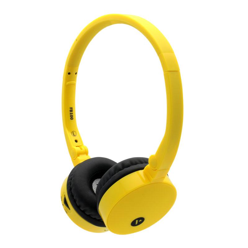 FB100-Wireless-Headset-Yellow