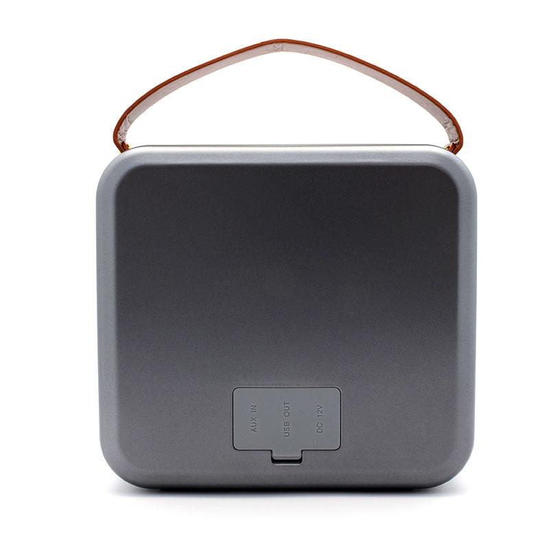 HR701-Premium-Speaker-Grey-Back-View