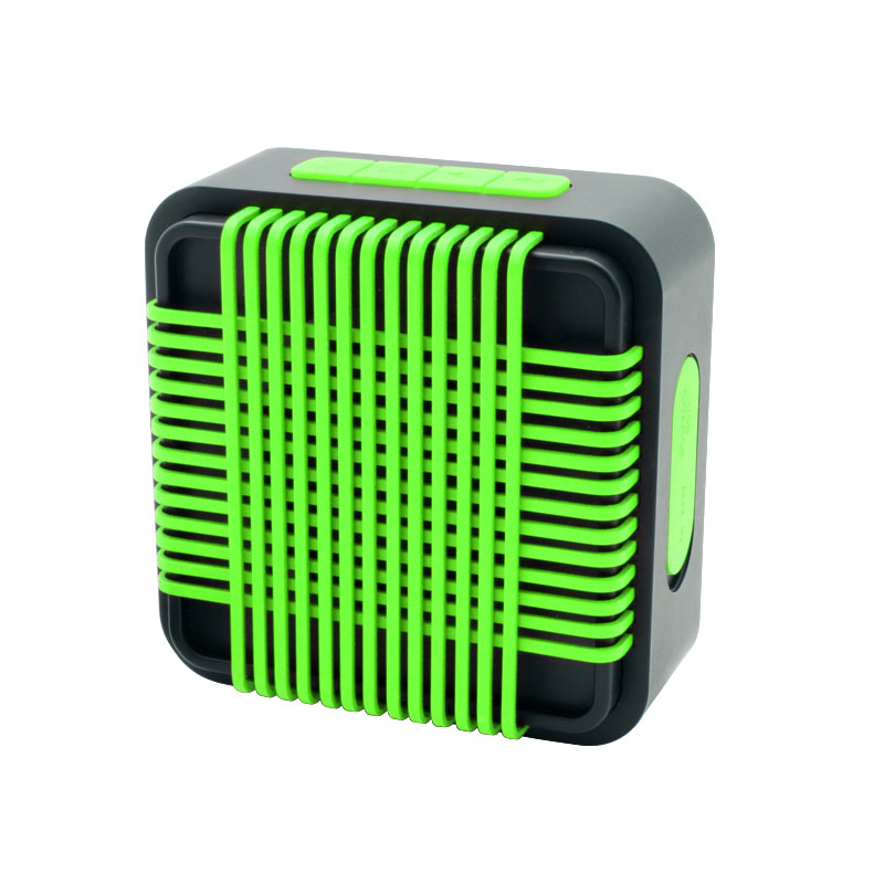 HR910-Water-Resistant-Wireles-Speaker-Green