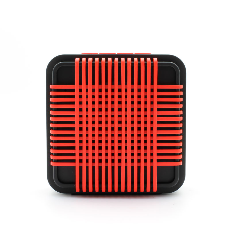 HR910-Water-Resistant-Wireles-Speaker-red-Front