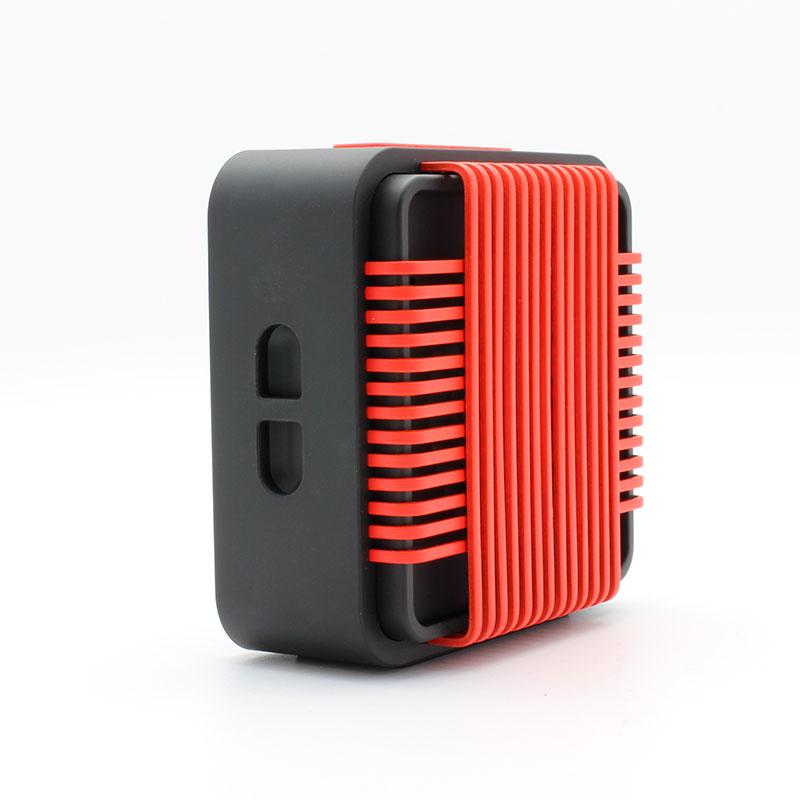 HR910-Water-Resistant-Wireles-Speaker-red-Strap-hole