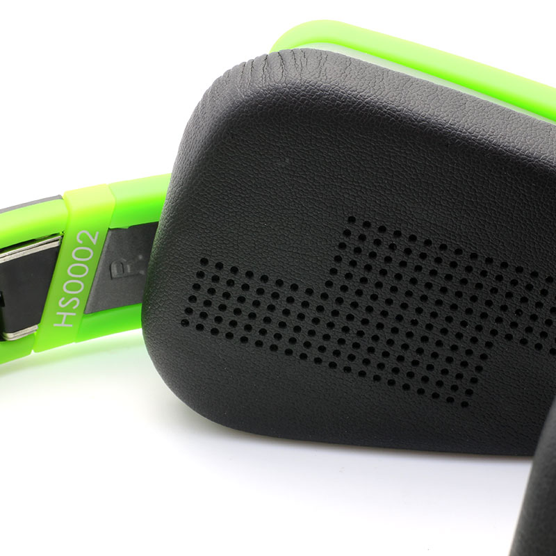 HS0002-Music-Headset-Green-Cushion