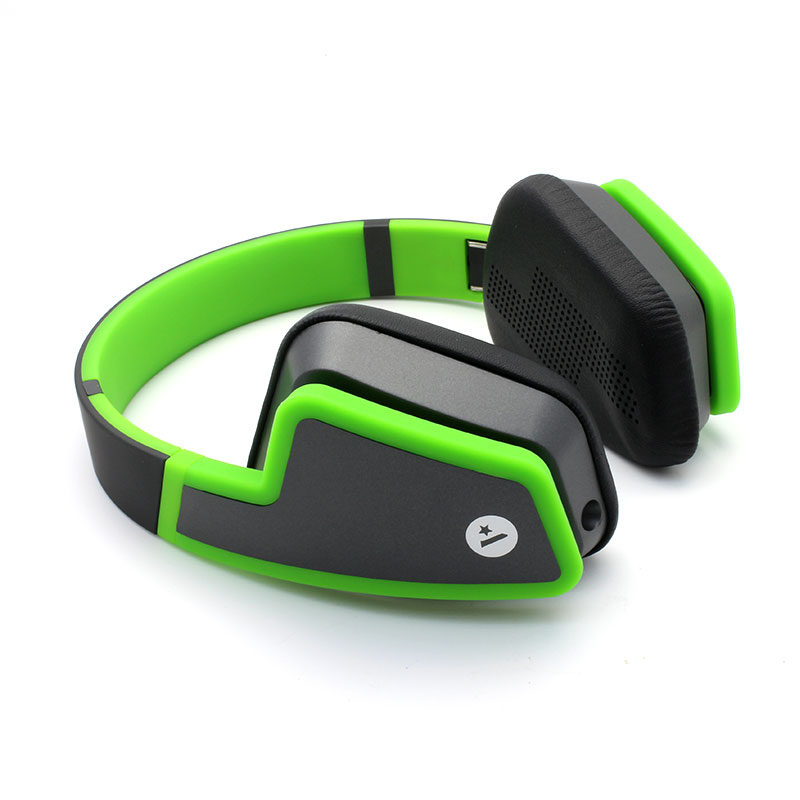 HS0002-Music-Headset-Green-Side