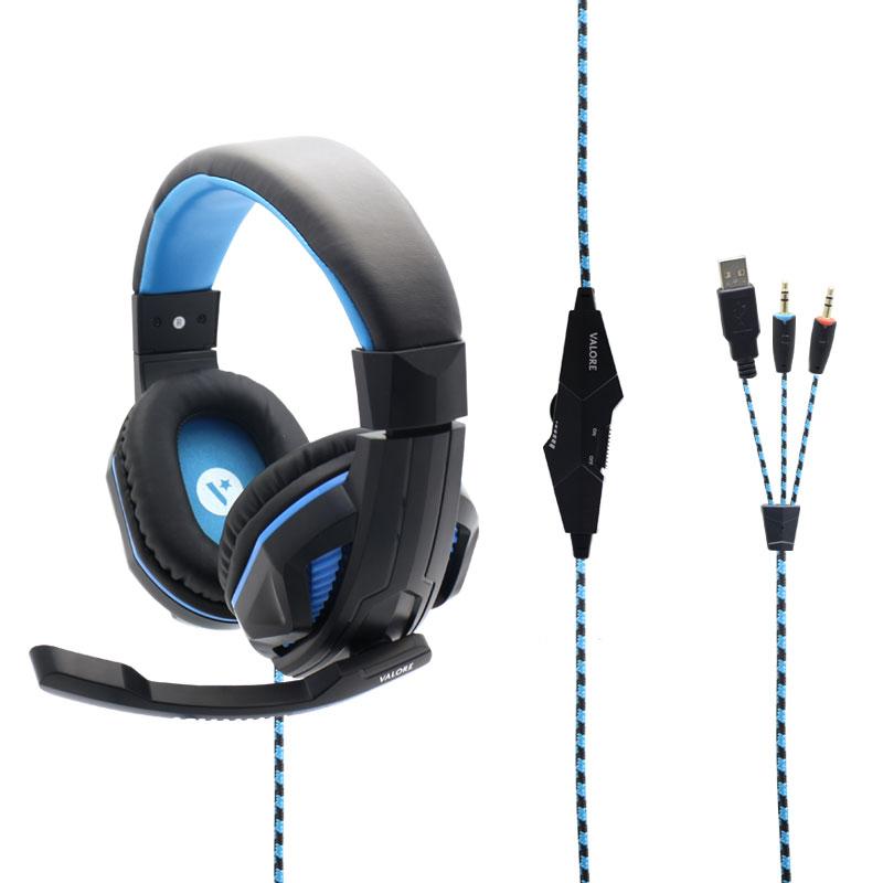 Gaming earbuds long cord - earphones long lasting