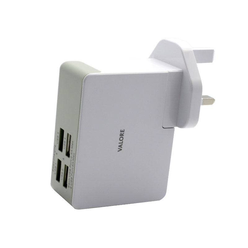 JK050500-S23EUU-4-Port-USB-Travel-Adapter