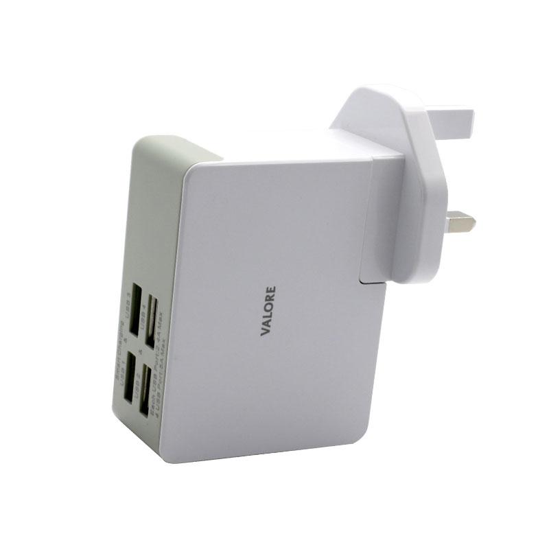 JK050500-S23EUU-4-Port-USB-Travel-Adapter