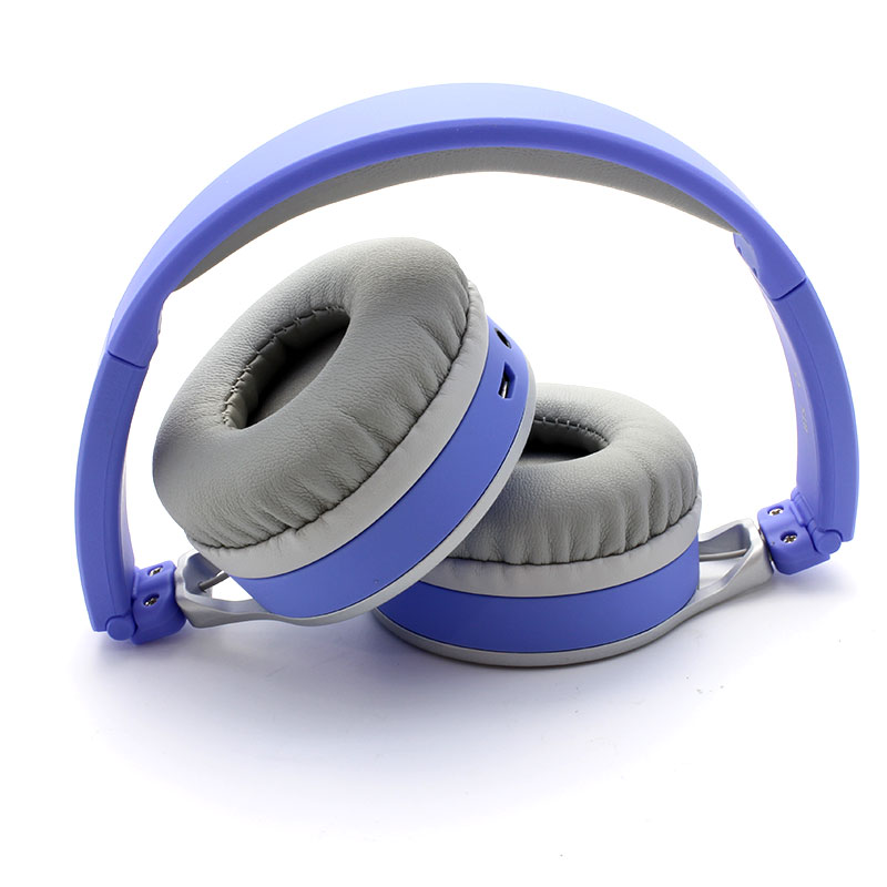 L5-Bluetooth-Headset-Blue-Front