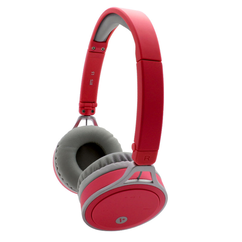 L5-Bluetooth-Headset-Red