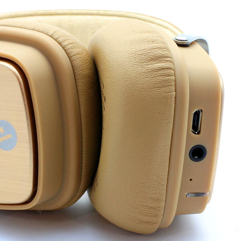 L6-Wireless-Headset-Brown-Ports