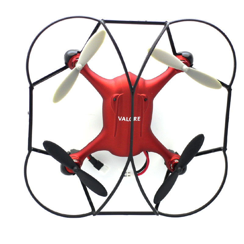 LA03-Mini-Drone-With-2-MP-Camera-Red-Top