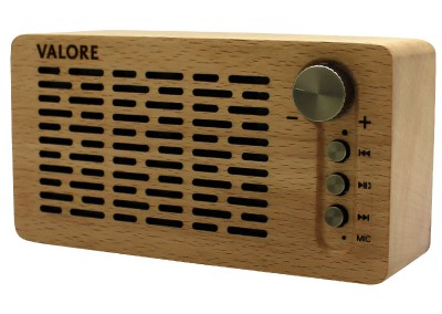 Valore Wooden Wireless Speaker (LP07)