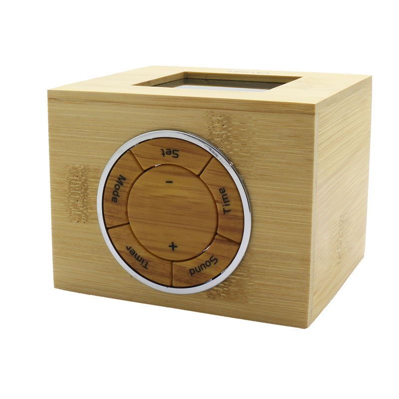 LTL13-LCD-Wooden-Digital-Clock-Controls-