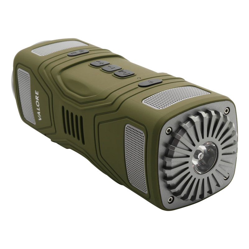 OP16-Wirelss-Outdoor-Speaker-(Green)-torch-off