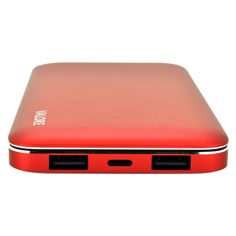 PB12-10000mAh-Power-Bank-Ports(Red)