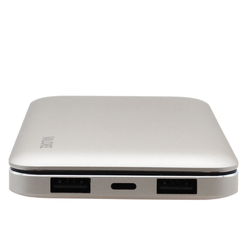 PB12-10000mAh-Power-Bank-Ports(Silver)