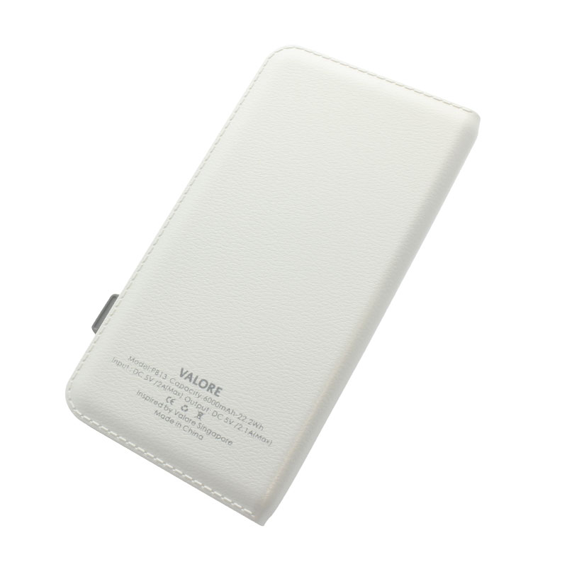PB13-6000mAh-Power-Bank-back(White)