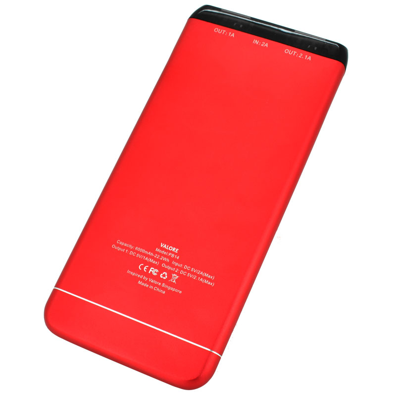 PB14-6000mAh-Power-Bank-back-Red
