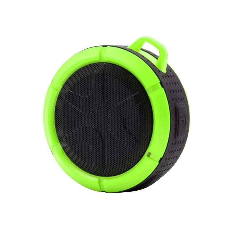 QKS2-Outdoor-Wireless-Speaker-Green