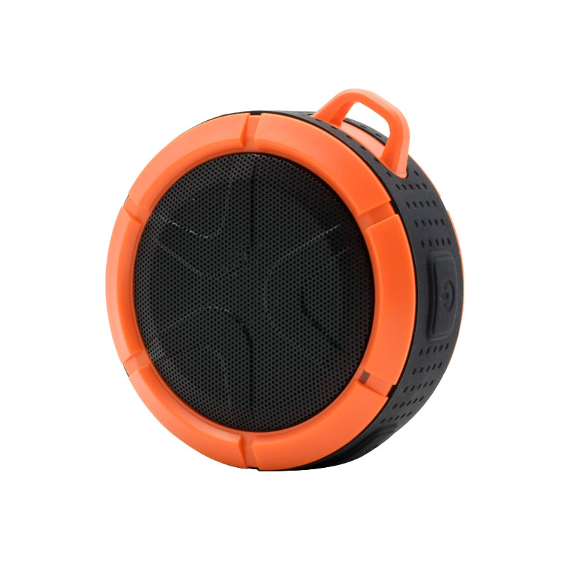 QKS2-Outdoor-Wireless-Speaker-Orange