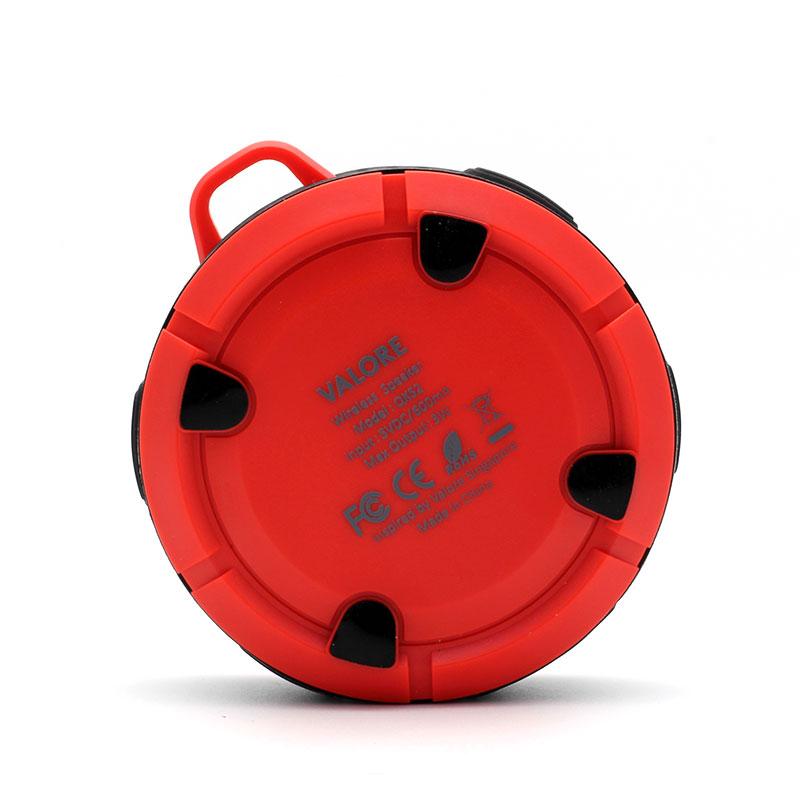 QKS2-Outdoor-Wireless-Speaker-Red-Back