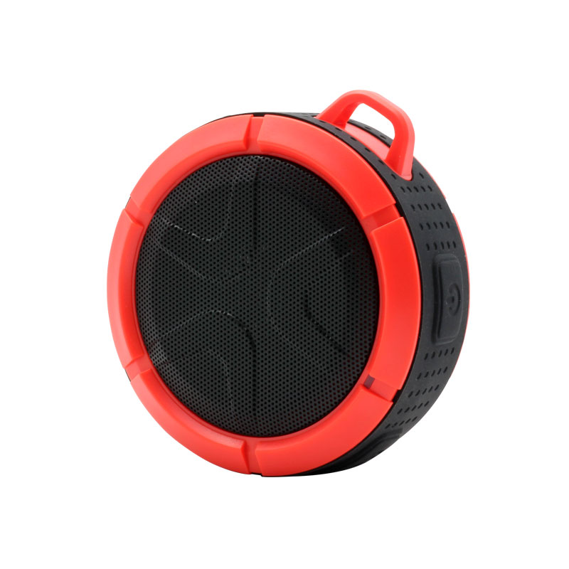QKS2-Outdoor-Wireless-Speaker-Red