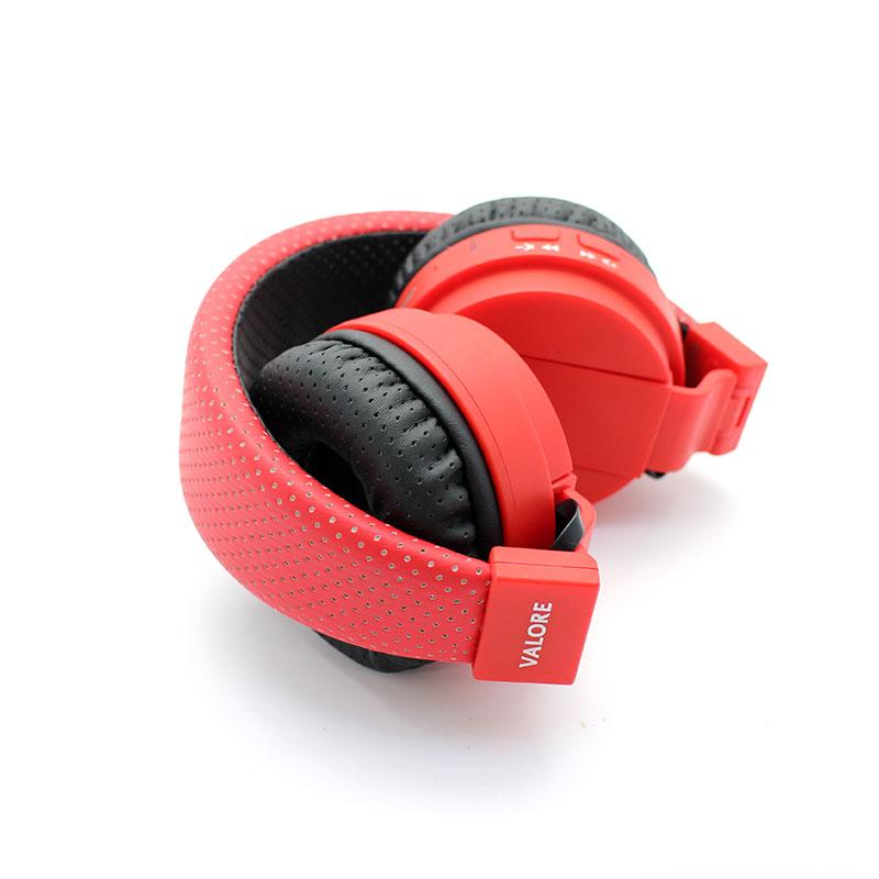 SH018B-Wireless-Headset-Red-Foldable-Side