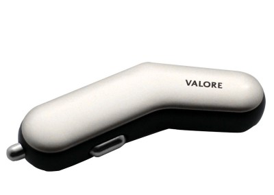 Valore Slim Dual Port USB 3.1A Car Charger (V-AC9104)