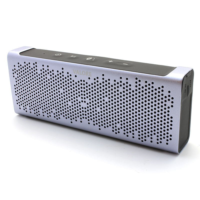 U221-Wireless-Speaker-Grey-Diagonal-Front