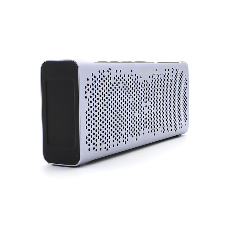 U221-Wireless-Speaker-Grey-Left-Side