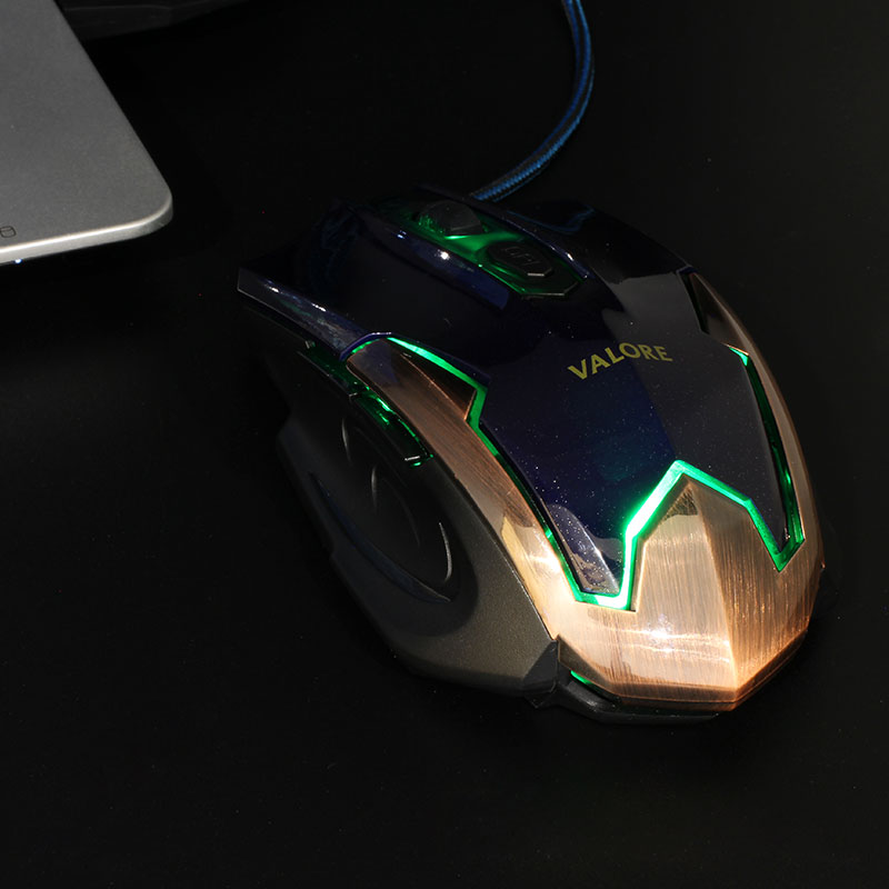 V-AC8206-Gaming-Mouse-Blue-Green-LED