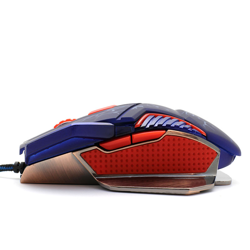 V-AC8207-Metallic-Gaming-Mouse-Left