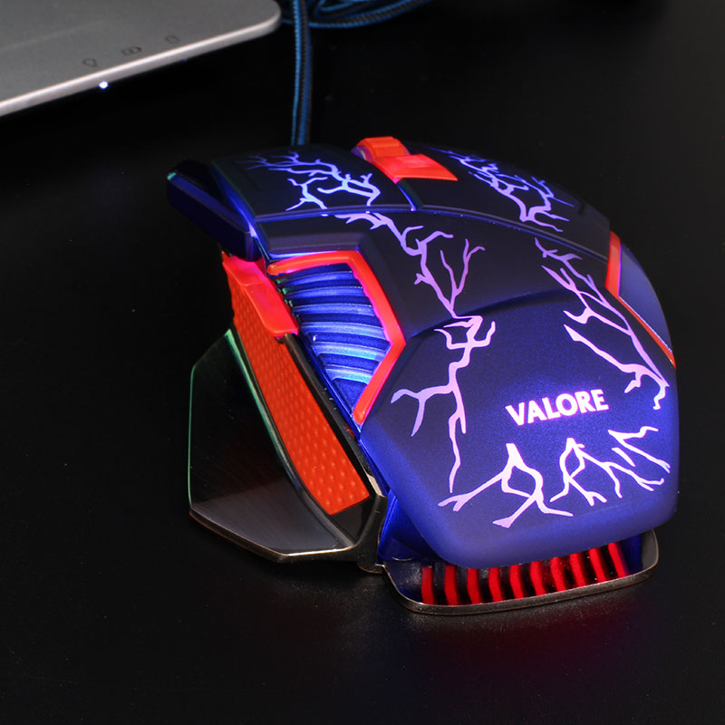 V-AC8207-Metallic-Gaming-Mouse-Purple-LED