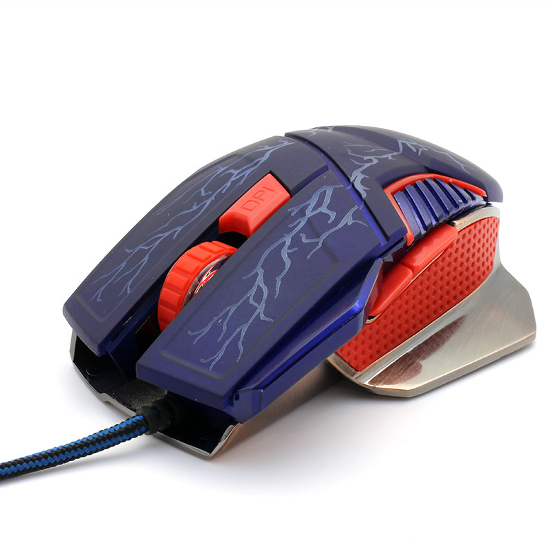 V-AC8207-Metallic-Gaming-Mouse-Top-Left