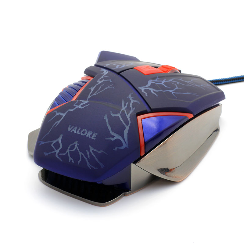 V-AC8207-Metallic-Gaming-Mouse-back-diaganol