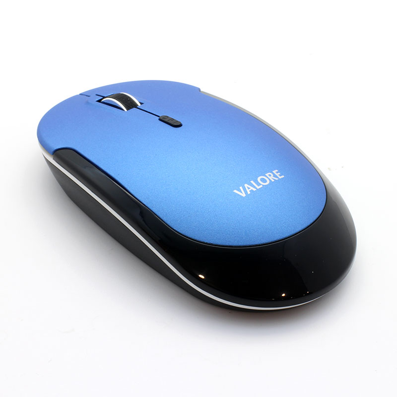 V-AC8802-Wireless-Optical-Mouse-Blue-top-Back